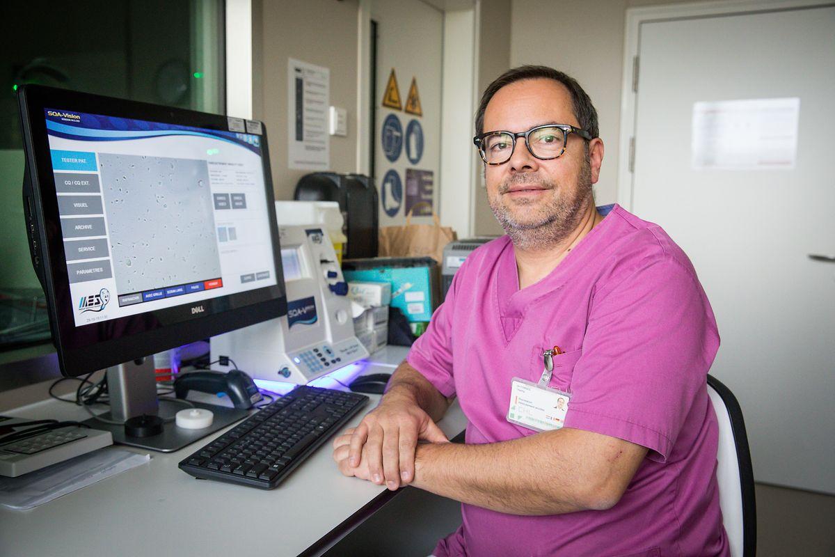 «Le don d'ovocyte étant interdit au Luxembourg, les femmes souhaitant bénéficier de cette pratique sont réorientées vers la Belgique ou l'Espagne», explique le Dr Thierry Forges.