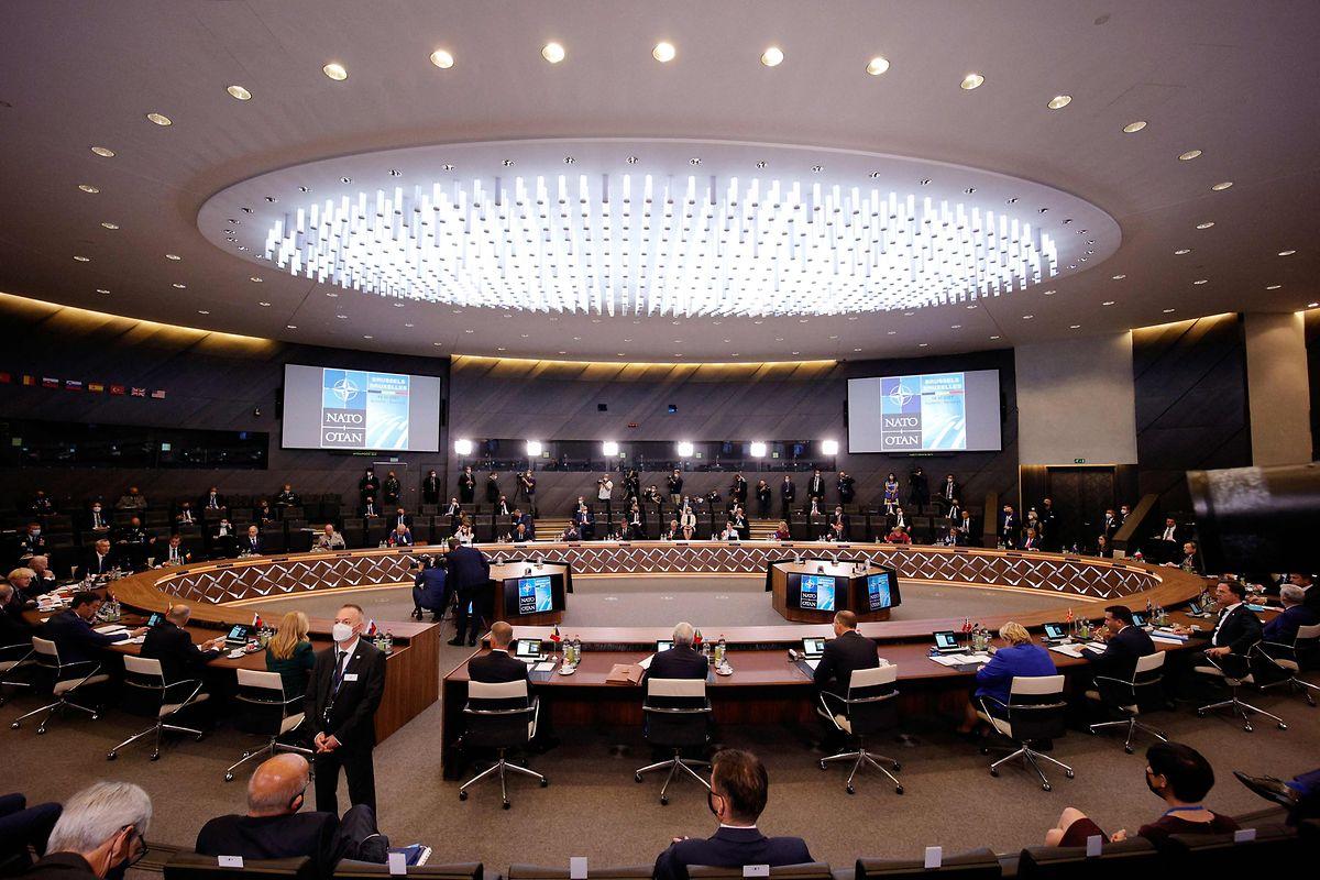 Blick in den Plenarsaal in Brüssel.