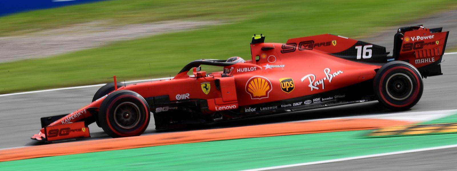 Charles Leclerc hat die Hoffnungen der Ferrari-Fans erfüllt.