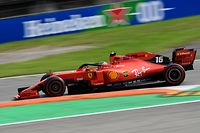 Ferrari's Monegasque driver Charles Leclerc competes during the Italian Formula One Grand Prix at the Autodromo Nazionale circuit in Monza on September 8, 2019. (Photo by Miguel MEDINA / AFP)