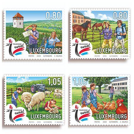 La série de timbres éditée par Post a été un bon élément de promotion du tourisme rural. Il faut d'autres actions de communication.