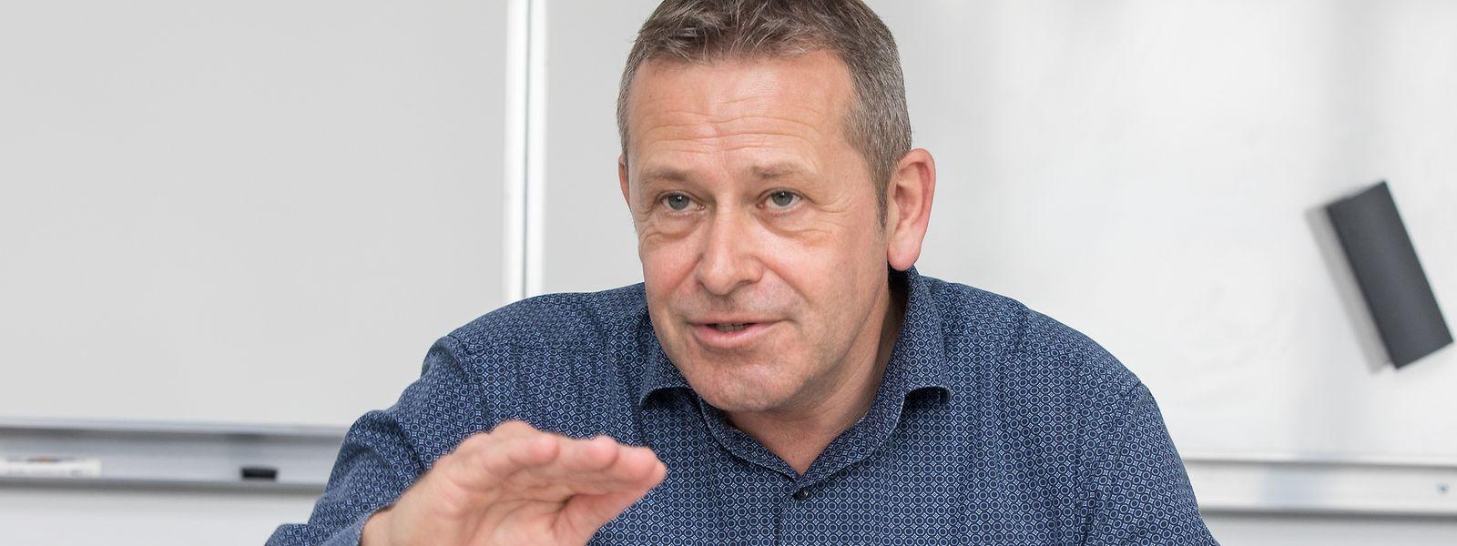 Julian Proffitt, Präsident des Verbands der Luxemburger Autozulieferer (ILEA), plädiert für mehr Ehrlichkeit bei der Diskussion um CO2-Reduzierung.