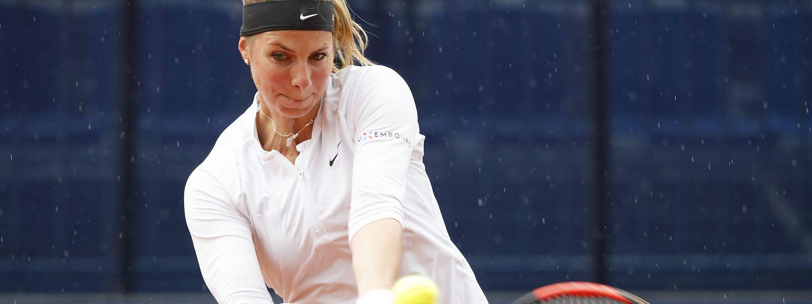 Mandy Minella s'est difficilement débarrassée de la Serbe Nina Stojanovic, tête de série n°1