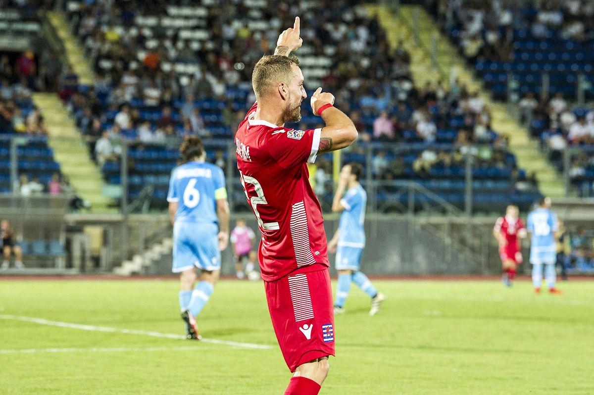 Il le cherchait, il l'a trouvé. Aurélien Joachim a inscrit son 14e but en sélection.