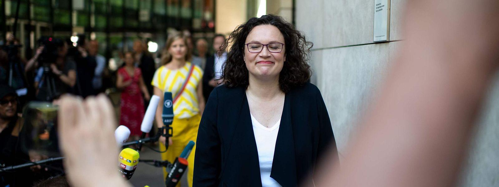 Der Umgang mit der SPD-Vorsitzenden Andrea Nahles war erbärmlich.