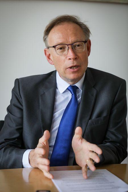 «Un autre grand enjeu pour notre banque des entreprises est de continuer à être l'acteur de référence sur les financements de l'économie luxembourgeoise.»