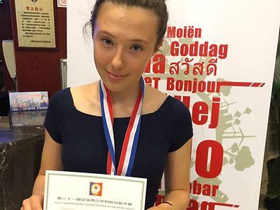 Camilla Hurst impressed the jury at CASTIC in Shanghai