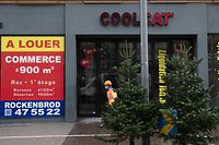 "Lokales, Pressekonferenz Stadt Luxemburg ""Mon Quartier – Mon Commerce "" / "" Mäi Quartier – Mäi Buttek""  Avenue de la Gare, Foto: Chris Karaba/Luxemburger Wort"