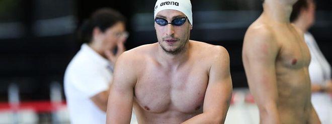 Raphaël Stacchiotti, le sportif le plus titré des Jeux, en route pour une septième participation.