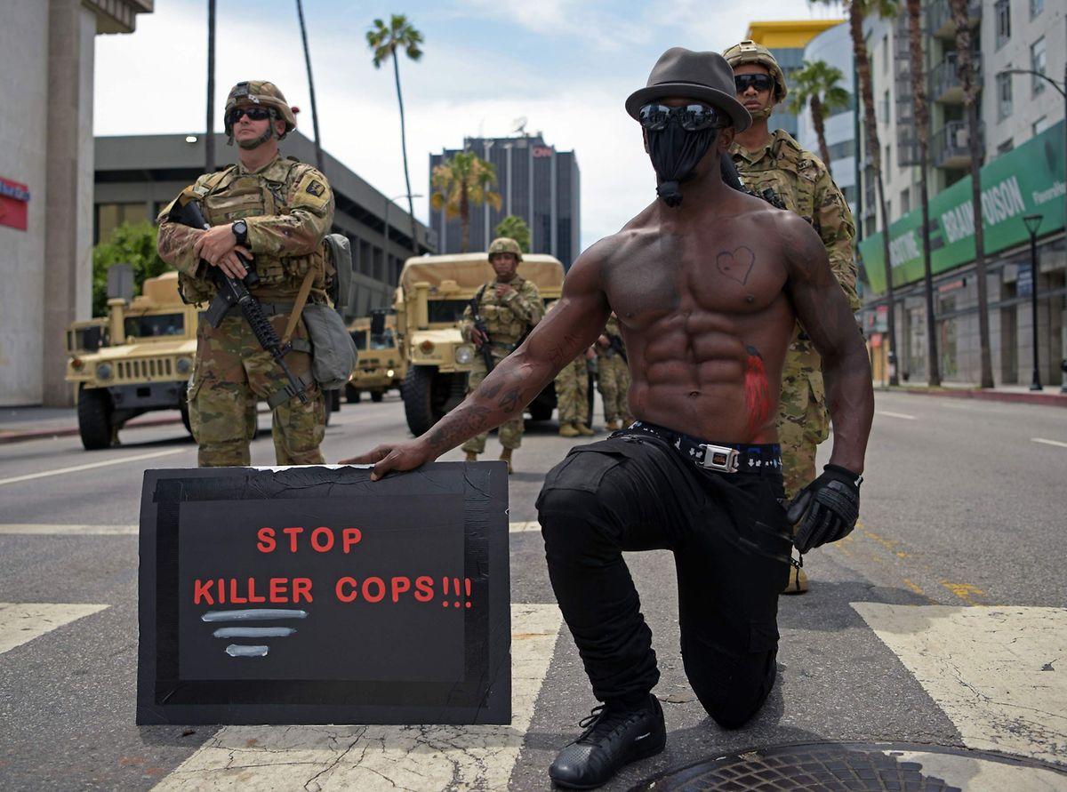 Proteste in Los Angeles.