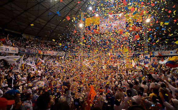 Ecuador wählt den Nachfolger des Präsidenten Correa