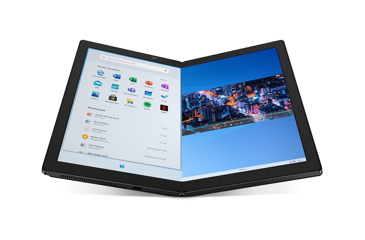 """""""ThinkPad X1 Fold"""" von Lenovo"""