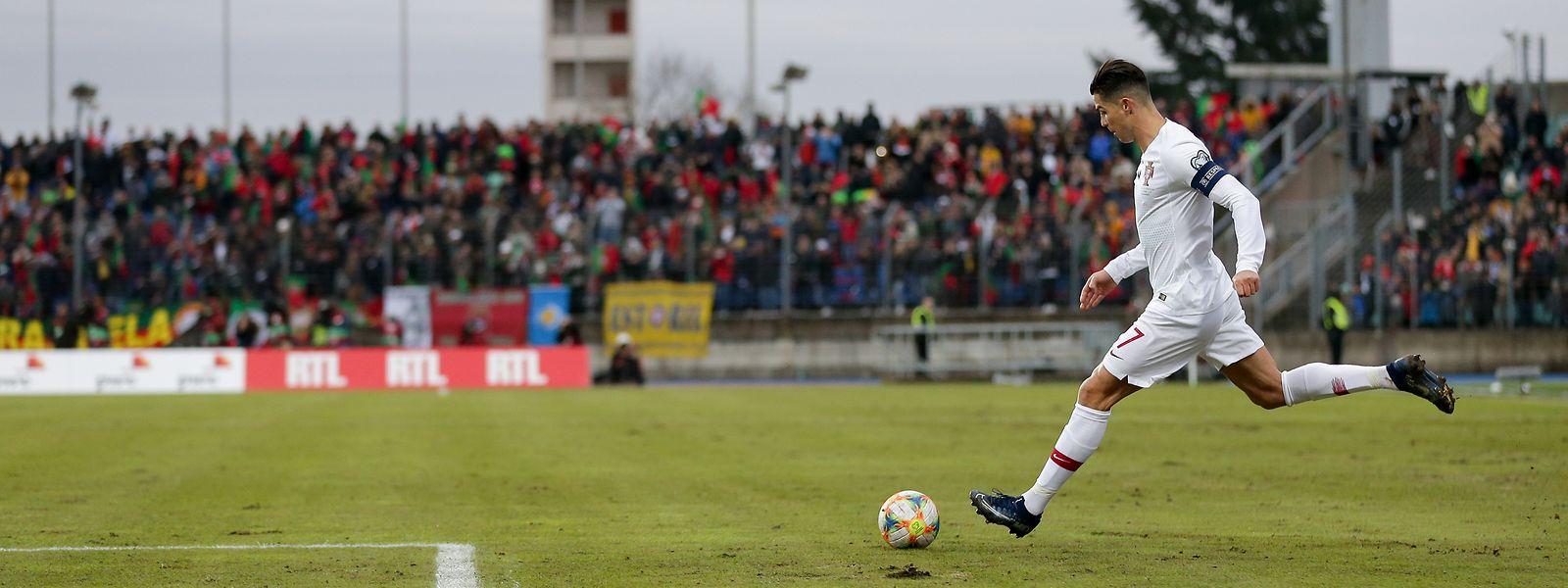 Zuletzt war Cristiano Ronaldo im November 2019 im Stade Josy Barthel zu Gast. Damals hatte er das Spielfeld als Kartoffelacker bezeichnet.