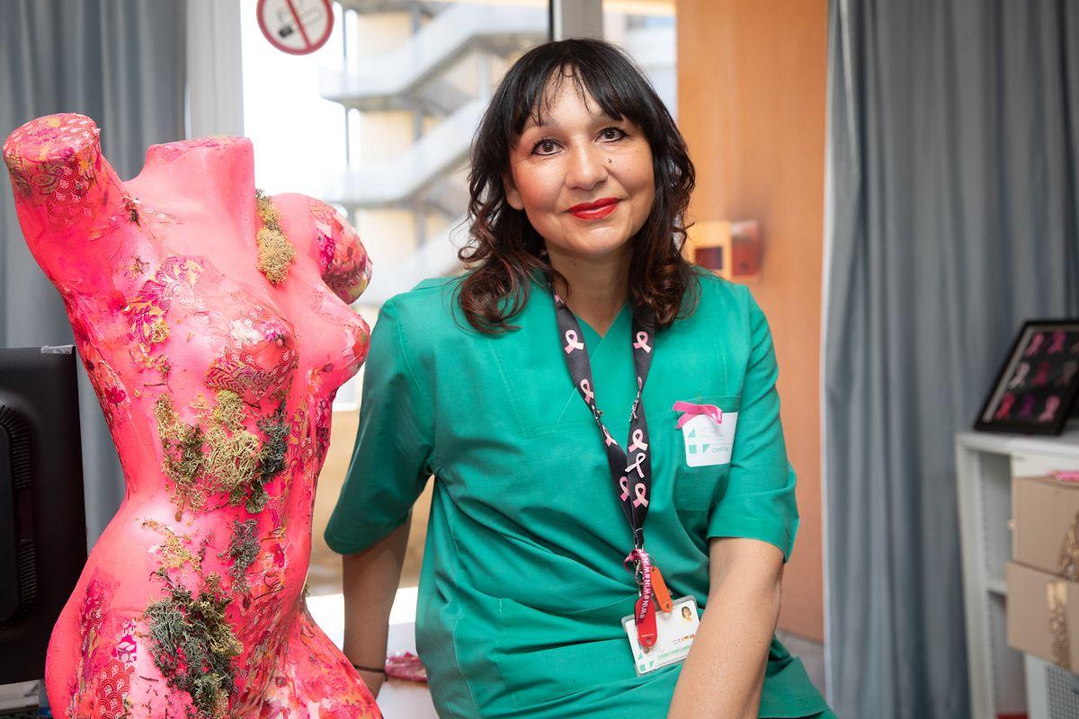 Laura da Silva arbeitet seit 25 Jahren im CHL. Die gelernte Krankenschwester betreibt derzeit den Brustkrebsblog des Krankenhauses: www.cancerseinchl.lu