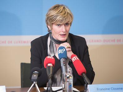 Economy State Secretary Francine Closener