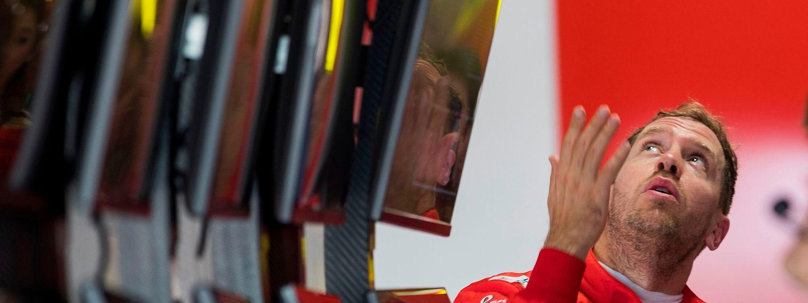 Sebastian Vettel und Co. haben die Wetterprognose genau im Blick.