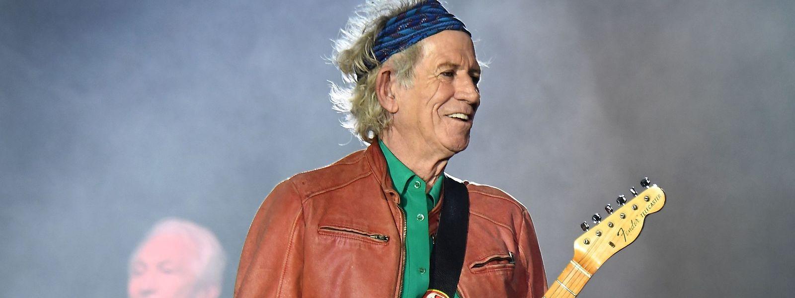 Unverwüstlich: Keith Richards wird tatsächlich 75.