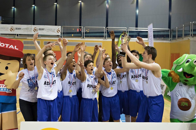 Etzella gewinnt bei den Scolaires mit 76:70 gegen Basket Esch.