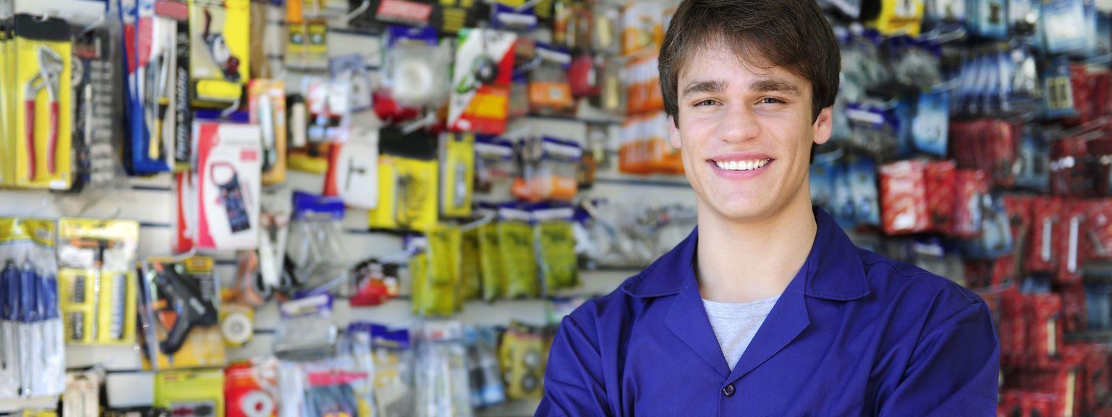 """Verkaufsberater oder doch lieber Büroangestellter: Auf der Webseite """"winwin.lu"""" der Handelskammer können sich künftige Auszubildende einen Überblick über die jeweiligen Berufe verschaffen."""