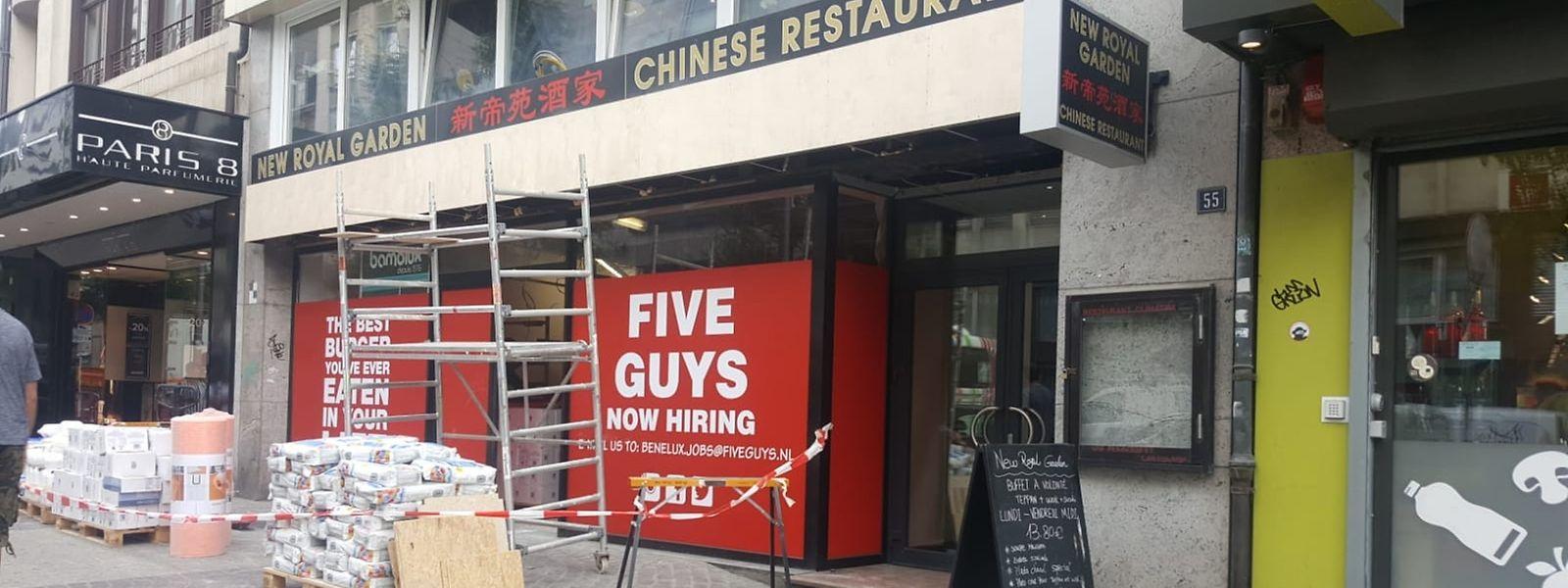 Un premier Five Guys va ouvrir ses portes dans l'avenue de la Gare à Luxembourg