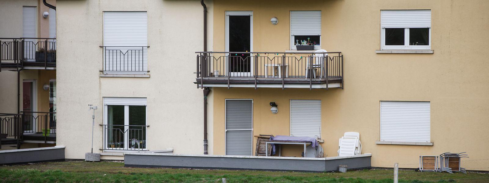 Als die Frau von der Kugel getroffen wurde, sass sie mit Freunden auf dieser Terrasse.