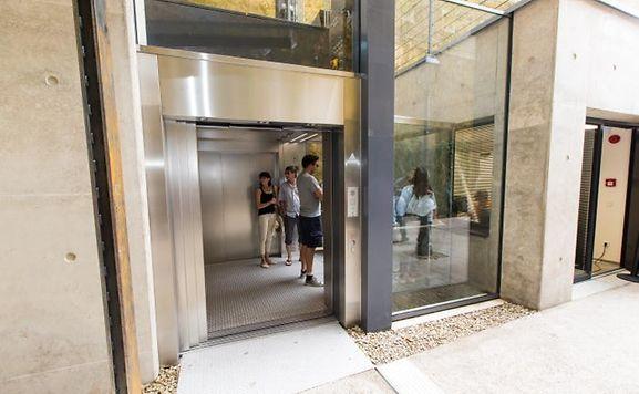 L'ascenseur panoramique n'était plus accessible depuis mercredi.