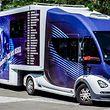 Der Truck der Casting-Tour ist ein mobiles Studio.