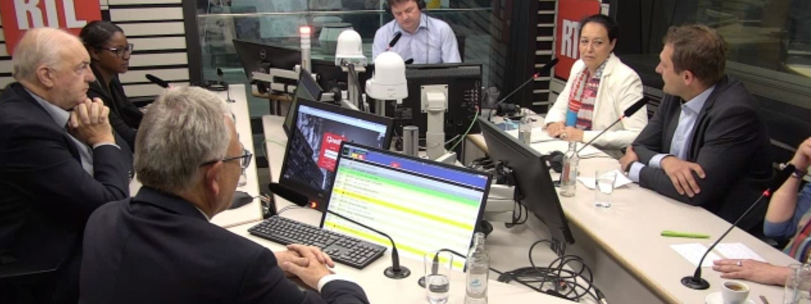 Die Gesprächsrunde der luxemburgischen EU-Wahlgewinner am Montagmorgen auf RTL Radio.