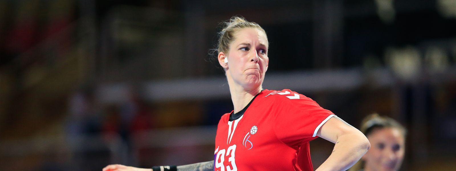 Tina Welter spielt wieder für den HB Käerjeng.