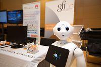 Der soziale Roboter Pepper soll etwa in Behörden den Bürgern helfen, die richtige Anlaufstelle zu finden.