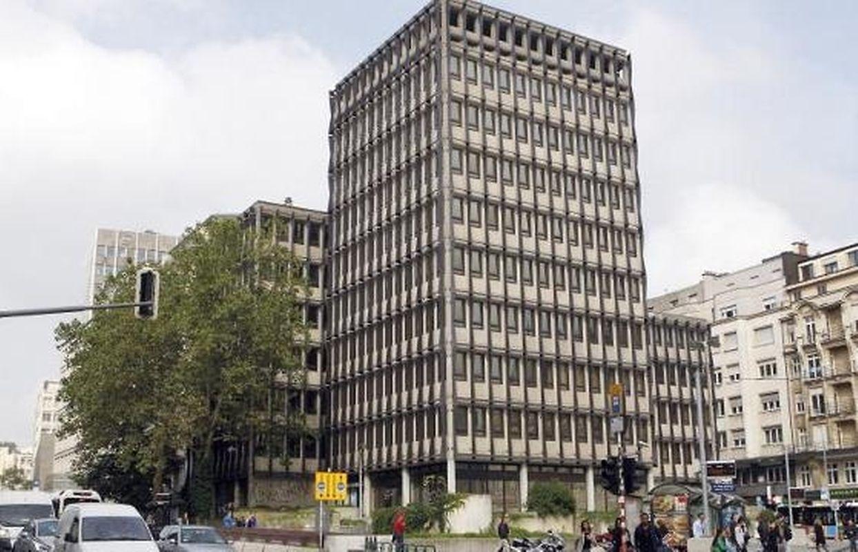 Les bâtiments administratifs sont toujours debout entre le boulevard Royal et la rue Aldringen, au coeur de la capitale.