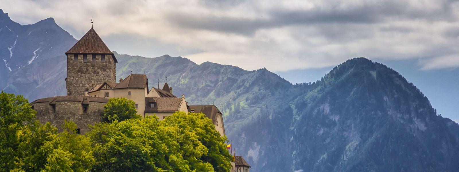 Die Residenz der Fürstenfamilie in Vaduz.
