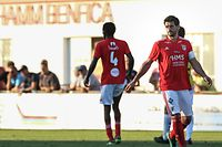 Paulo Arantes (Benfica - 6) / Fussball BGL Ligue Luxemburg, 1. Spieltag Saison 2018-2019 / 06.08.2018 / FC RM Hamm Benfica - F91 Dudelange / Stade du Cents / Foto: Yann Hellers