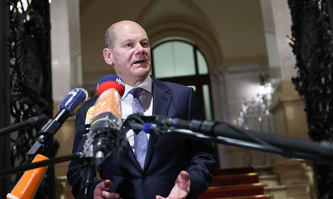 German Finance Minister Olaf Scholz expressed confidence that an accord will be reached