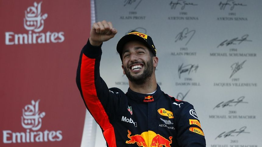 Ricciardo wins chaotic Azerbaijan GP; Vettel leads overall