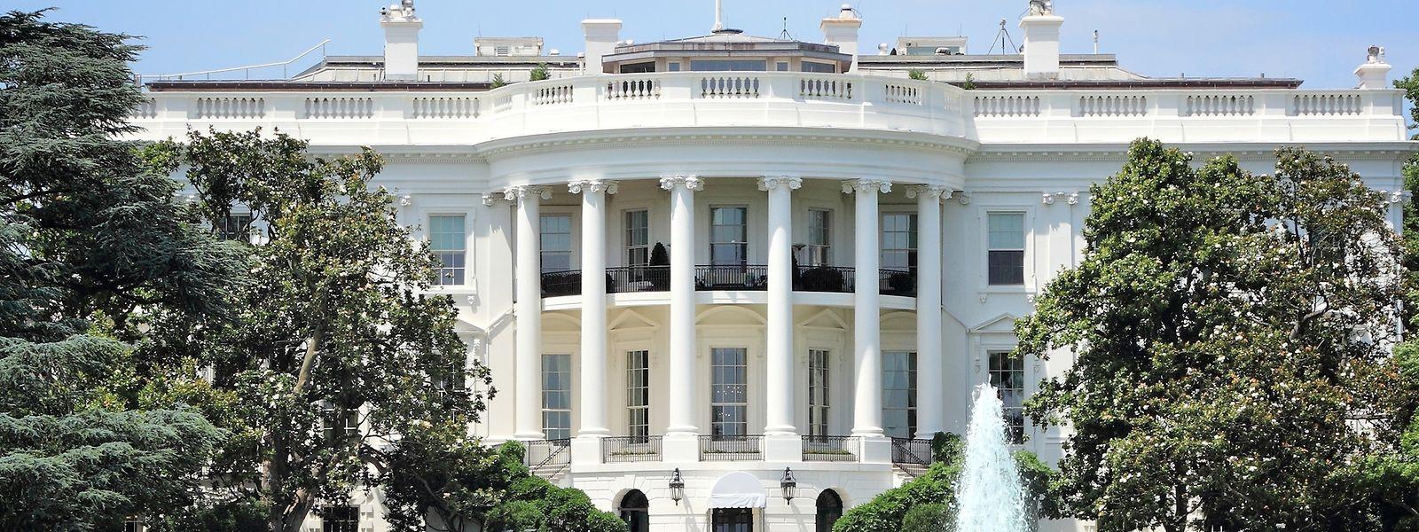 Hier wollen die Demokraten hin: Das Weiße Haus in Washington DC.