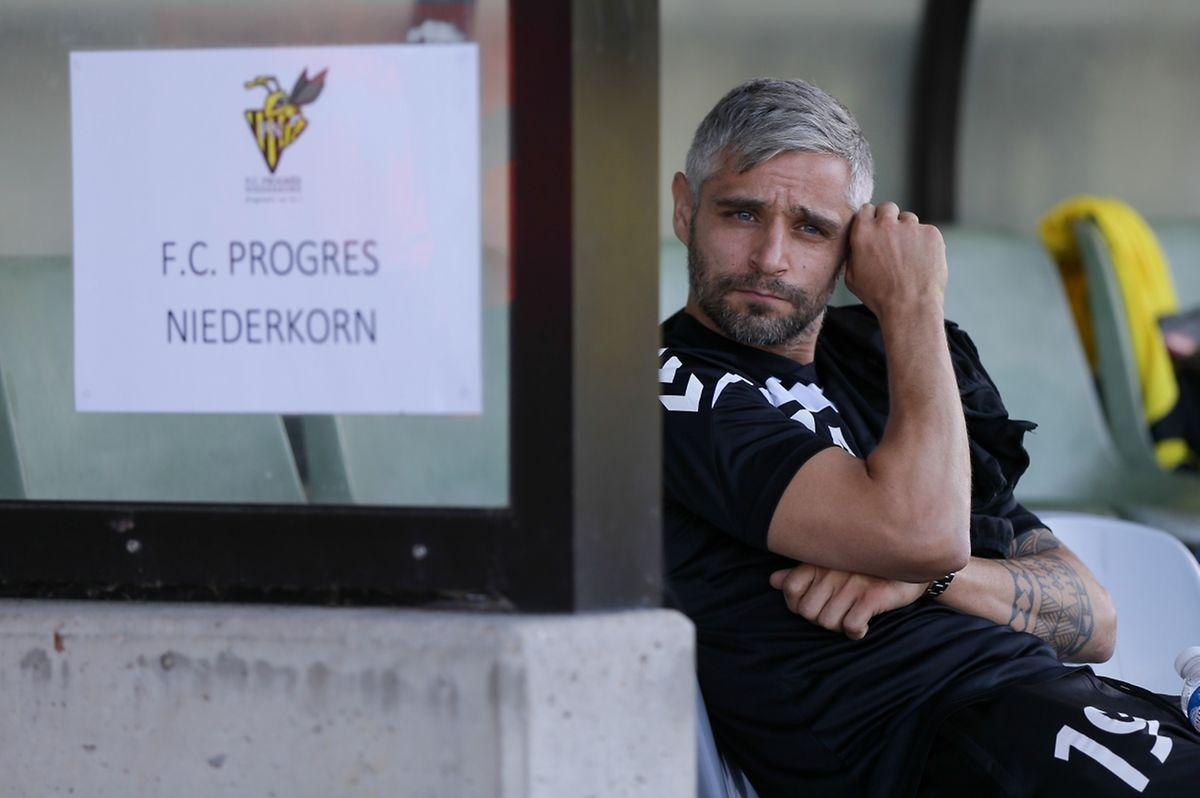 Mario Mutsch a pris son mal en patience tout en accompagnant l'équipe en Coupe d'Europe. Le vrai départ, c'est pour dimanche.