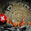 Schon der Tunneldurchstich 2010 wurde in der Schweiz wie ein Nationalfeiertag behandelt.