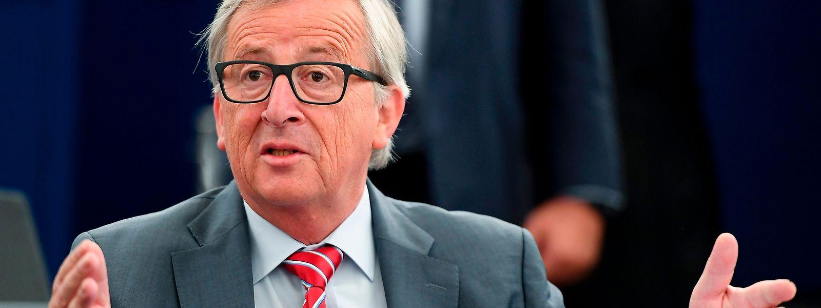 Kommissionspräsident Jean-Claude Juncker stellte sein milliardenschweres Investitionsprogramm Ende 2014 vor.