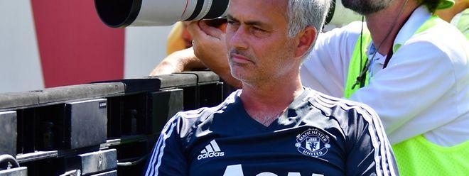 O treinador do Manchester United, o português José Mourinho.
