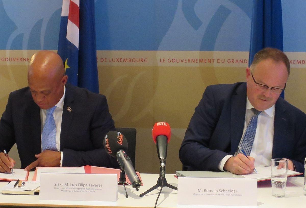 Os protocolos foram assinados esta quinta-feira na cidade do Luxemburgo