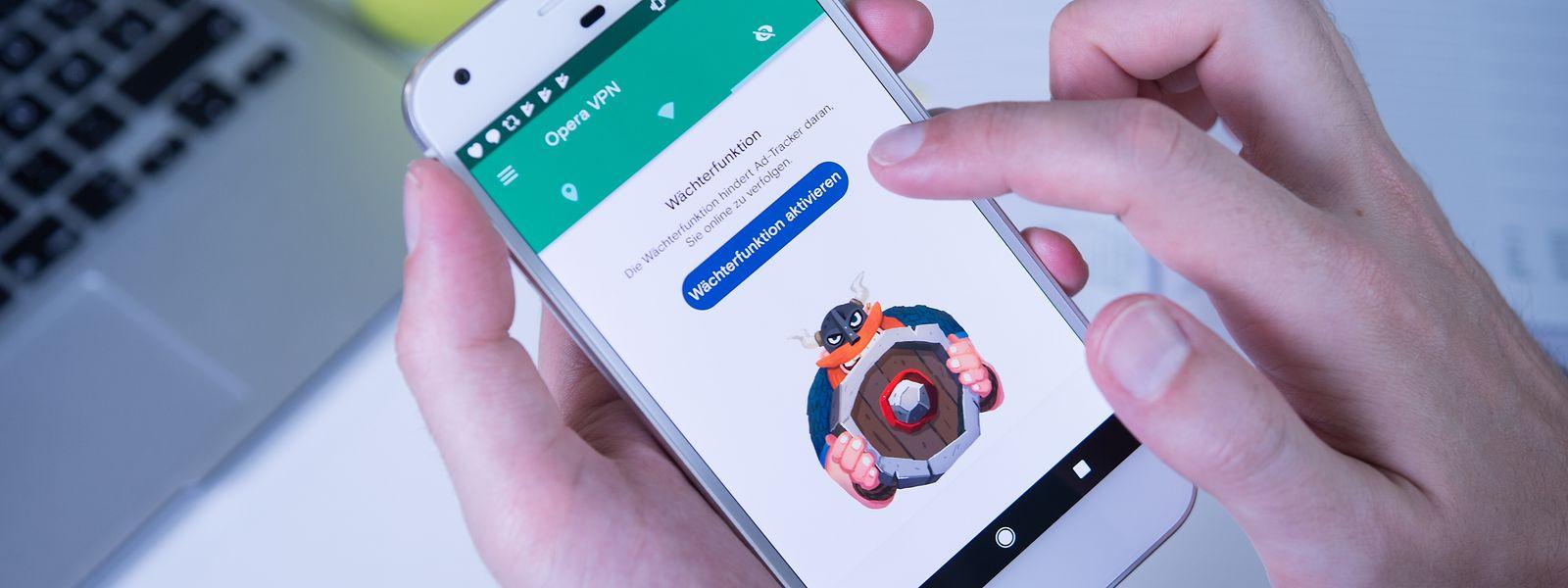 Olaf, die VPN-App des norwegisch-chinesischen Unternehmens Opera, ist in der kostenlosen Version schon ganz brauchbar.
