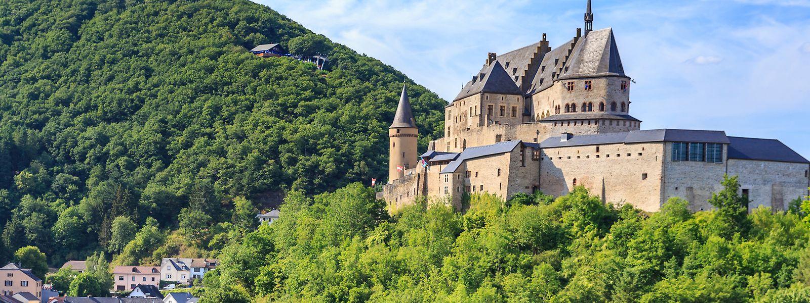 Parmi les 50 châteaux du pays, c'est celui de Vianden qui a eu les faveurs de la chaîne CNN.