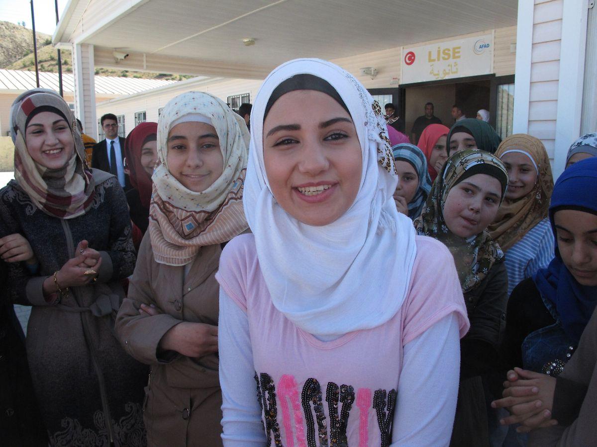 Rama und ihre Freundinnen leben bereits seit mehr als drei Jahren im Flüchtlingslager in Gaziantep.