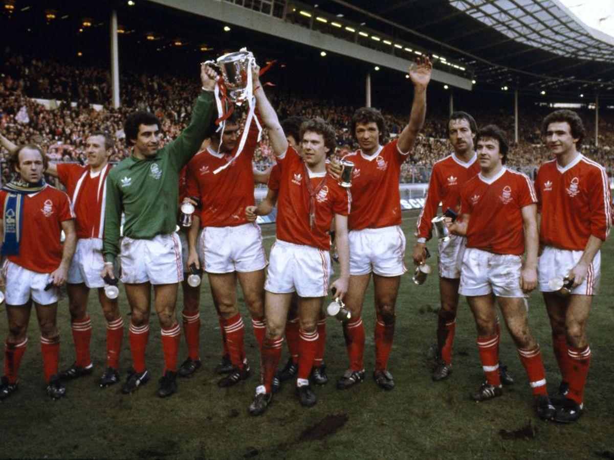 Nottingham Forest champion d'Angleterre 1978-1979, avec les Archie Gemmill, Peter Shilton, Tony Woodcock et autre Martin O'Neill
