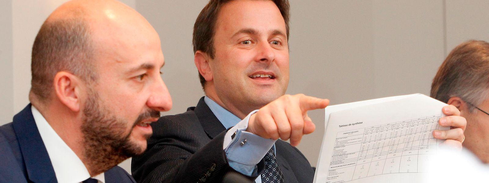 Mit Premier Xavier Bettel (DP)  und Vizepremier Etienne Schneider (LSAP) übernimmt eine neue Generation die Macht.
