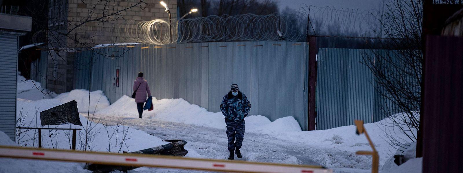 Das Gebiet Wladimir, auf dem die Justizvollzugsanstalt steht, liegt rund 100 Kilometer östlich von Moskau.