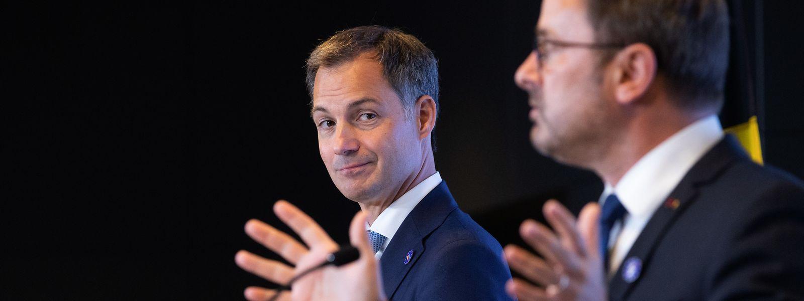 Alexander De Croo peut avoir le sourire. Le Premier ministre belge n'a pas fait le déplacement au Kirchberg pour rien.