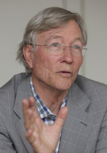 Prominenter Spitzenkandidat: Rolf Tarrach war von 2005 bis Ende 2014 Direktor der Uni.lu