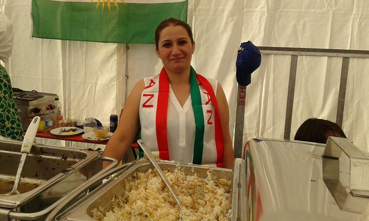 Mamo a participé à la Fête nationale le 23 juin dernier, en proposant des spécialités syriennes.